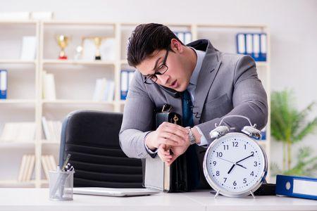 صورة , رجل أعمال , تنظيم الوقت
