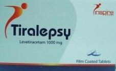 صورة , عبوة , دواء , أقراص , تيراليبسي , Tiralepsy