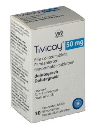صورة , عبوة , دواء , لعلاج فيروس فشل المناعة البشري , تيفيكيي , Tivicay