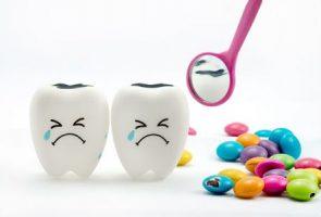 أغذية هامة , تسوس الأسنان , أسنان الأطفال