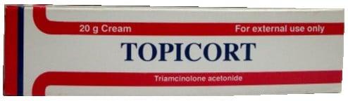 صورة,عبوة, توبيكورت ,Topicort