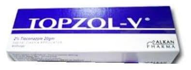 صورة,دواء,علاج, عبوة, توبزول-في , Topzol-V