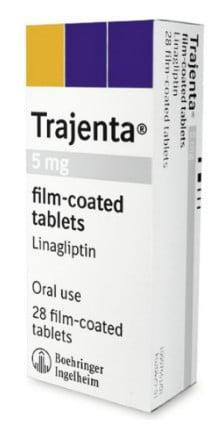 صورة , عبوة , دواء , أقراص , لمرضى السكر النوع الثاني , تراجينتا دوأو , Trajenta