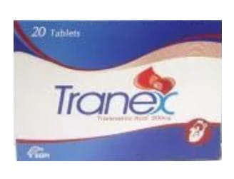 صورة , عبوة , دواء , أقراص , مضاد للنزيف , ترانكس , Tranex