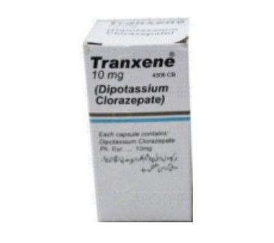 صورة , عبوة , دواء , لعلاج نوبات الصرع , ترانيكسين , Tranxene