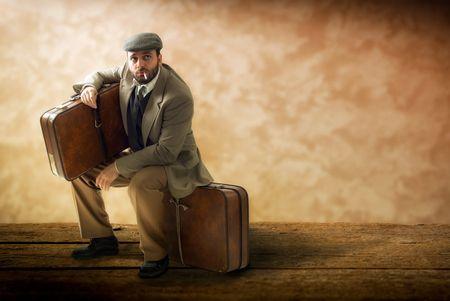 صورة , رجل , السفر , الهجرة