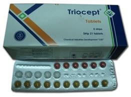 صورة , عبوة , دواء , أقراص , ترايوسيبت , Triocept