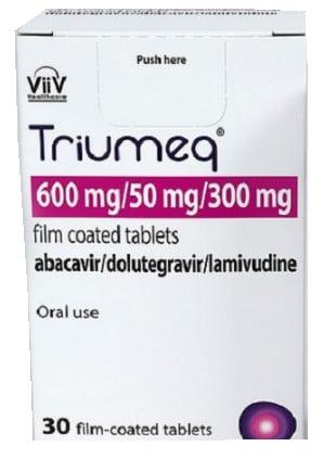 صورة , عبوة , دواء , لعلاج فيروس الفشل المناعي البشري , تريومك , Triumeq