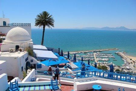 تونس ، الحبيب بورقيبة ، المطاعم ، المقاهي ، البلدة القديمة ، قرطاج