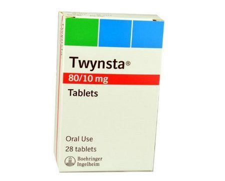 صورة , عبوة , دواء , لعلاج ارتفاع ضغط الدم , توينستا , Twynsta