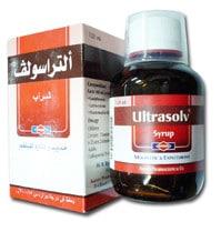 صورة , عبوة , دواء , التراسولف, شراب, Ultrasolv