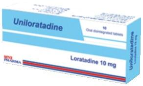 صورة, عبوة ,يونيلوراتادين, Uniloratadine