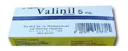 صورة , عبوة , دواء , أقراص , علاج التوتر , فالينيل , Valinil