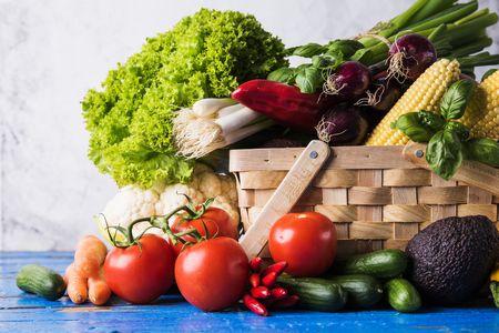 صورة , خضروات , الطماطم , الخيار