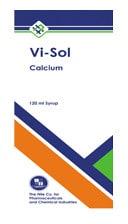 صورة , عبوة , دواء , شراب , في سول كالسيوم , Vi-Sol Calcium