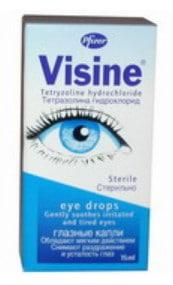 صورة , عبوة , دواء , قطرة للعين , لعلاج حساسية العين , فايزين , Visine