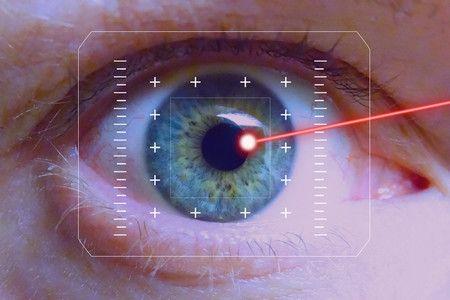 تصحيح, الرؤية,عين,صورة