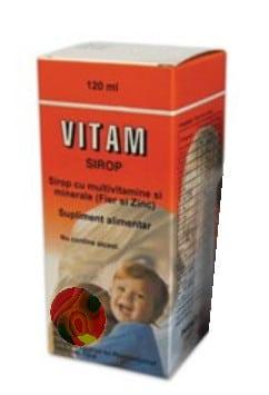 صورة , عبوة , دواء , شراب , علاج نقص الفيتامينات , فيتام , Vitam
