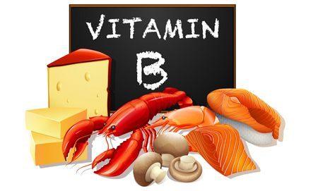 مصادر فيتامين ب الطبيعية , Vitamin B