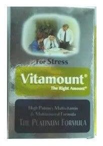 صورة , عبوة , دواء , كبسولات , فيتاماونت للإرهاق, Vitamount For Stress