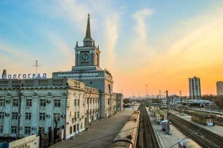 فولغوغراد ، روسيا ، ماماييف كورغان ، المحطة المركزية ، بحيرة إلتون ، حديقة كومسومول ، فولجوجراد