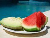 البطيخ ، الشمام ، ضغط الدم ، الموز ، الفيتامينات ، البوتاسيوم ، مرضى الكلى