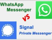 Whatsapp , Signal