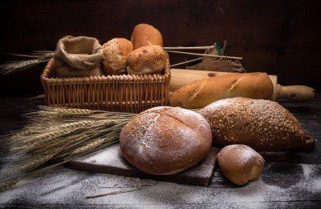 حساسية القمح ، الطفح الجلدي ، القولون العصبي ، الخبز ، الدقيق