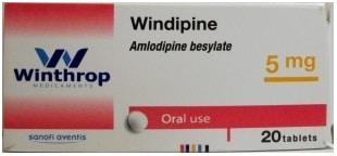 صورة , عبوة , دواء , أقراص , وينديبين , Windipine