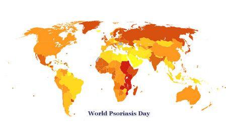 اليوم العالمي للصدفية , World Psoriasis Day , صورة