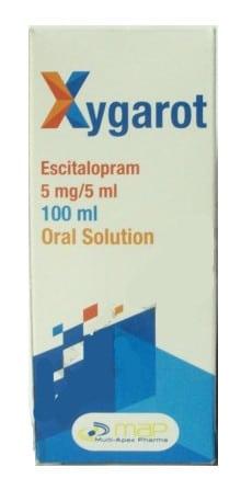 صورة , عبوة , دواء , شراب , لعلاج الإكتئاب , زيجاروت , Xygarot