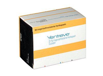 صورة , عبوة , دواء , مضاد للإكتئاب , ينتريف , Yentreve