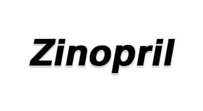 صورة,تصميم, زينوبريل, Zinopril