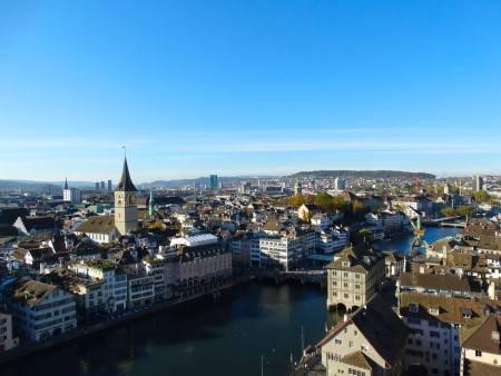 زيورخ ، سويسرا ، متحف بيليريف ، دار الأوبرا ، ساحة بلفيو ، بحيرة زيوريخ ، الحديقة النباتية