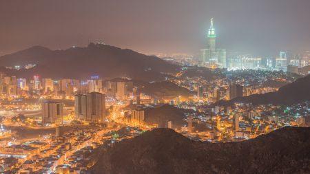 جبل النور في المملكة العربية السعودية
