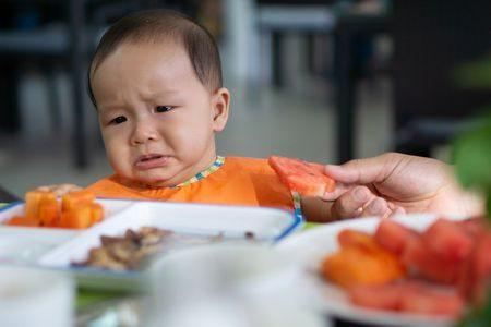 حساسية الأطعمة , الأطفال, baby eat , صورة