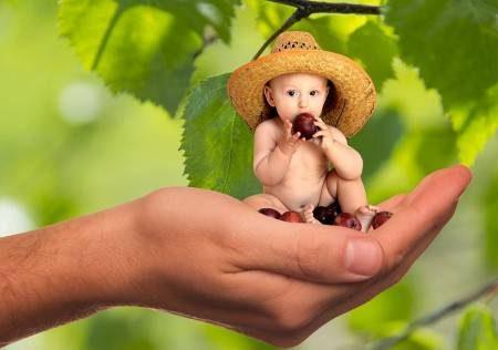 الشهر التاسع ، الرضاعة الطبيعية ، الفواكه ، الغذاء السليم ، الخضروات ، البطاطس