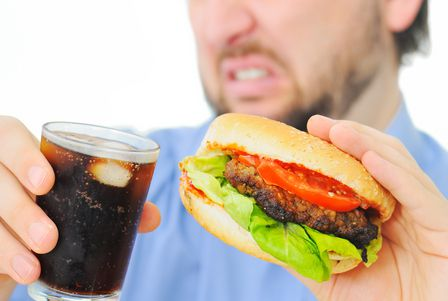 صورة , مرض سوء التغذية , الوجبات السريعة