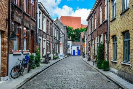 لوفان ، بلجيكا ، قاعة المدينة ، نامسسترات ، السوق القديم ، بيجينهوف