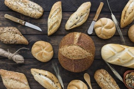 الخبز ، الدايت ، إنقاص الوزن ، الغذاء الصحي