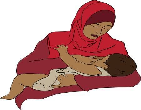 الأم ، الجنين ، الرضاعة الطبيعية ، إدرار اللبن ، المرضعات ، السعرات الحرارية ، الشوفان ، بذور الحلبة ، القرع