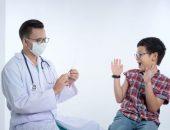 صورة , طفل , طبيب , العمود الفقري