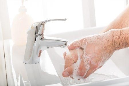 صورة , غسل الأيدي , معلومات عن الجرب , النظافة الشخصية