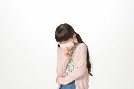صورة , طفلة , الكحة الناشفة عند الأطفال
