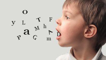 تأخر النطق ، الكلام ، تطور الطفل ، سلوك الطفل ، مرض التوحد