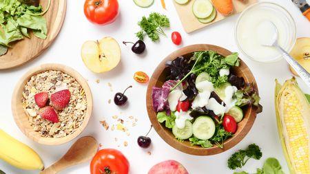 صورة , حمية , النظام الغذائي , خضروات