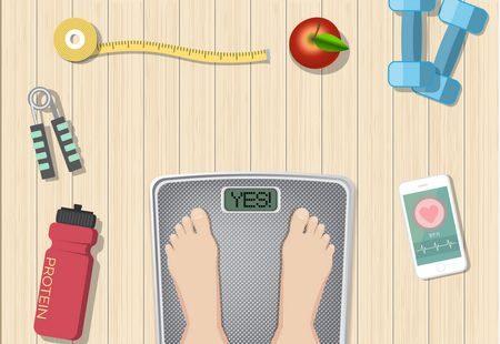 صورة , إنقاص الوزن , الحميات الغذائية