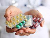 صورة , طبيب , دواء , مضادات الاكتئاب