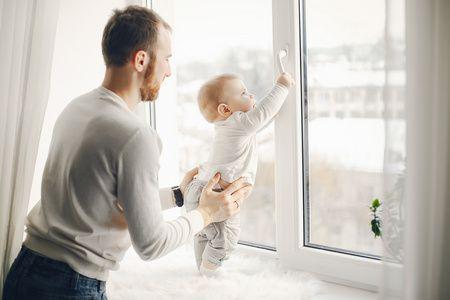 صورة , عقوق الأبناء , أب , طفل