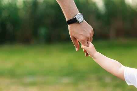 صورة , أب , ابنه , الحب , العائلة